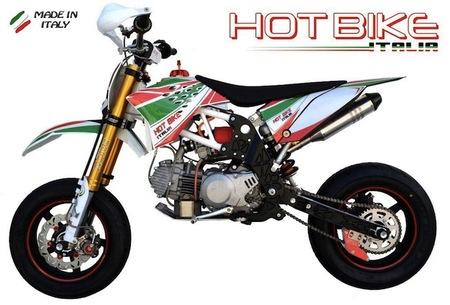 Rosciano Moto Hot Bike Italia 2013, pitbike de altos vuelos