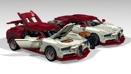 Este Bugatti Chiron de Lego es una curiosa 'opera prima'