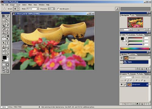 Foto de Evolución de la interfaz de Adobe Photoshop desde 1989 (16/24)