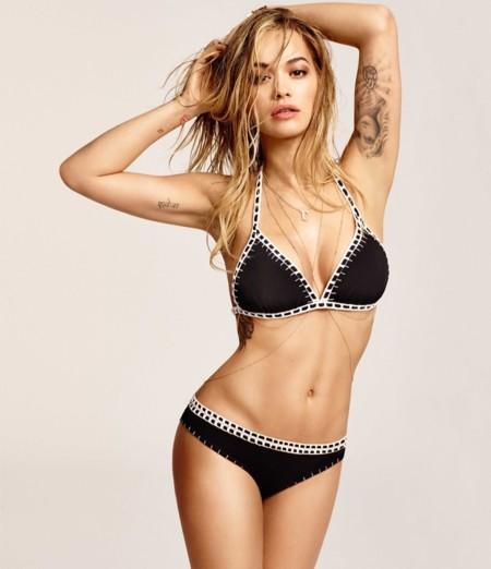 Rita Ora Tezenis Bikini Kiini
