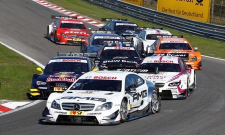 Lewis Hamilton, Jean Alesi y David Coulthard invitados a la última cita del DTM