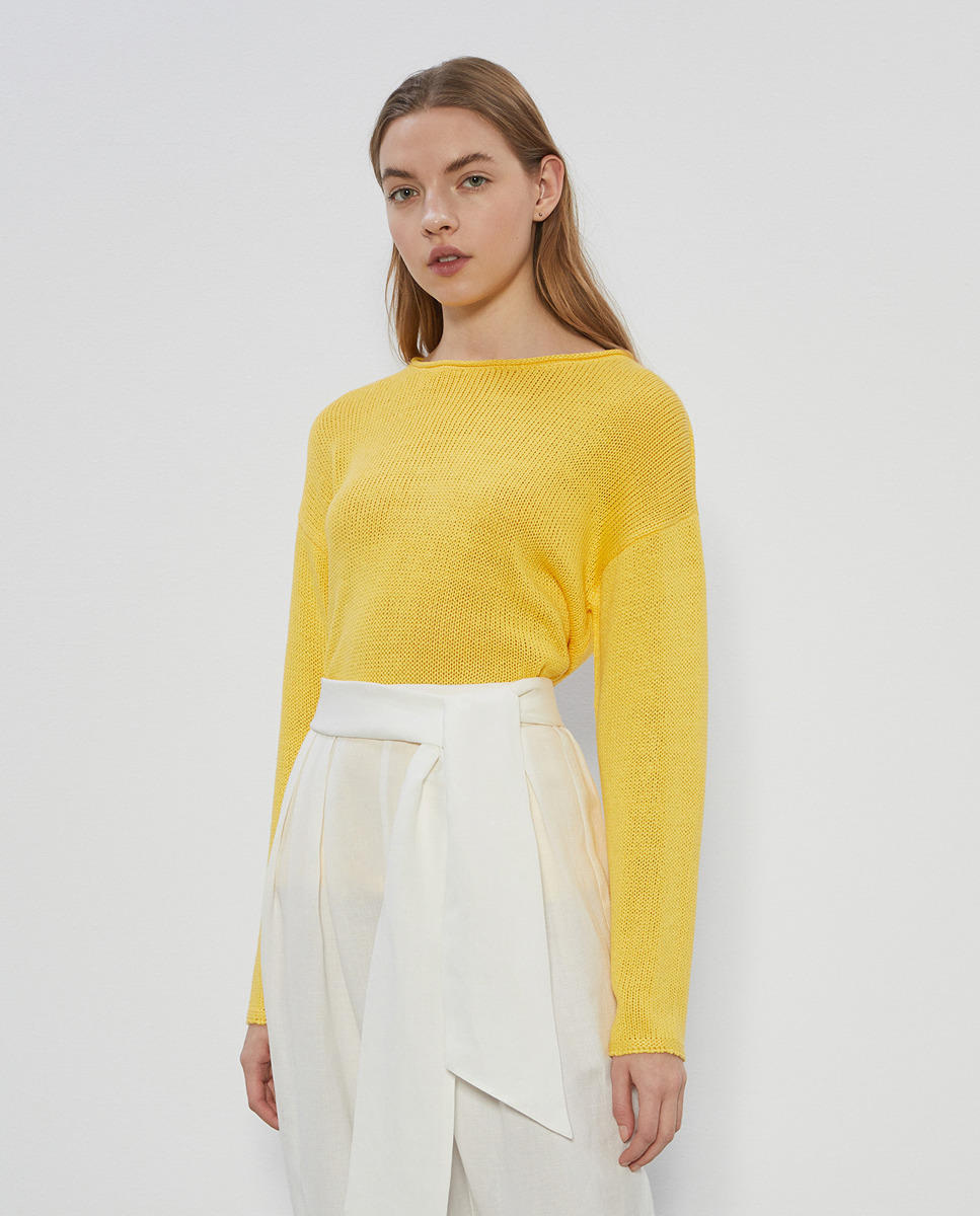 Jersey básico cintas de mujer