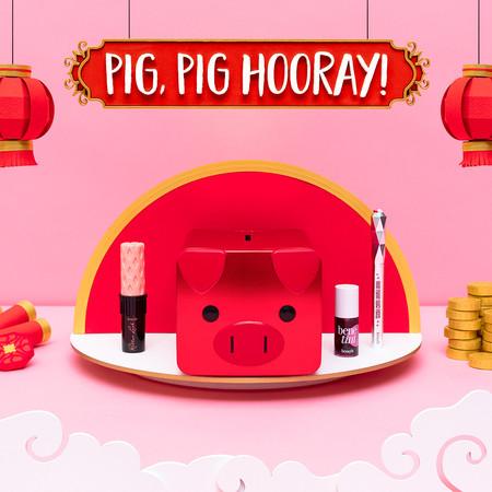 belleza cerdo año chino