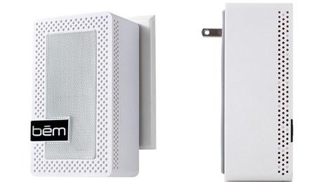 Outlet Speaker, el nuevo altavoz inalámbrico  de Bēm que se enchufa directamente a la pared