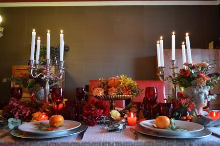 Mesa de otoño