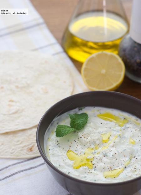 Tzatziki griego. Receta de aperitivo