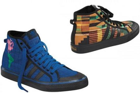 Zapatillas Adidas Originals by Originals Nizza Hi II por Jeremy Scott