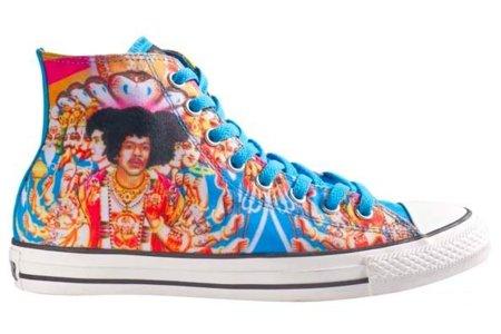 Nueva colección de Converse Chuck Taylor inspiradas en Jimi Hendrix