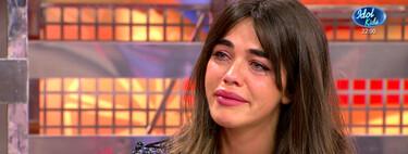 Violeta Mangriñán se derrumba en 'Sálvame' al hablar de su enfermedad y desvela que su máximo apoyo es Marta López Álamo, la novia de Kiko Matamoros