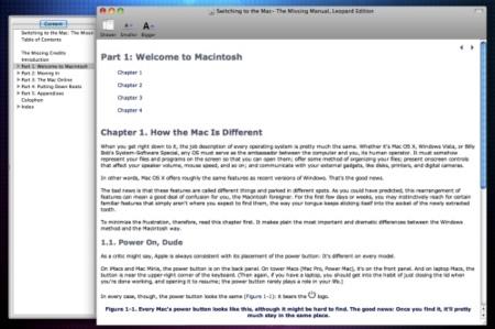 Chmox visor de documentos con formato CHM en Mac OS X