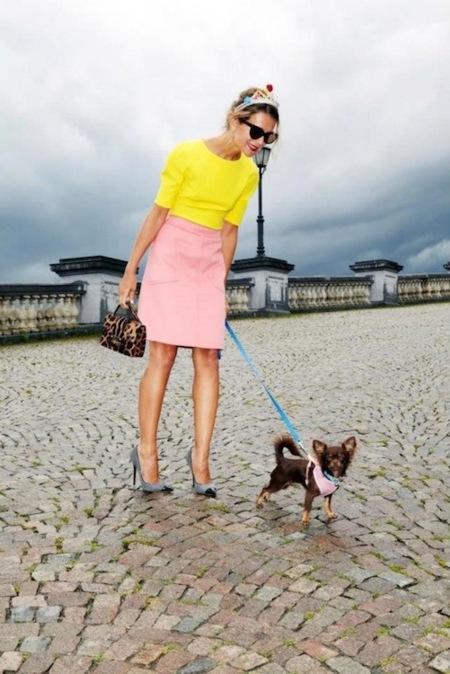 Natalie Joos y Viviana Volpicella pisan con estilo en la nueva campaña de Jimmy Choo