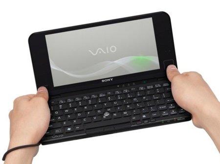 Sony Vaio P se renueva de forma importante con un TouchPad y acelórometro