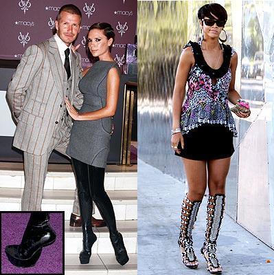 Los zapatos más extravagantes de las famosas durante 2008