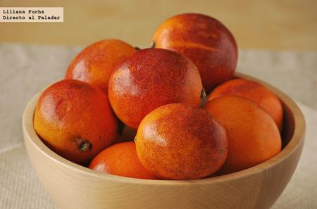 Naranja sanguina, la belleza rojiza del invierno