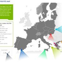 Los altos ingresos del tráfico de refugiados