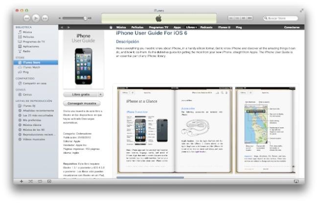 Guía de usuario iOS 6