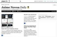 Paper.li, otro periódico de tus enlaces, listas o tags de Twitter