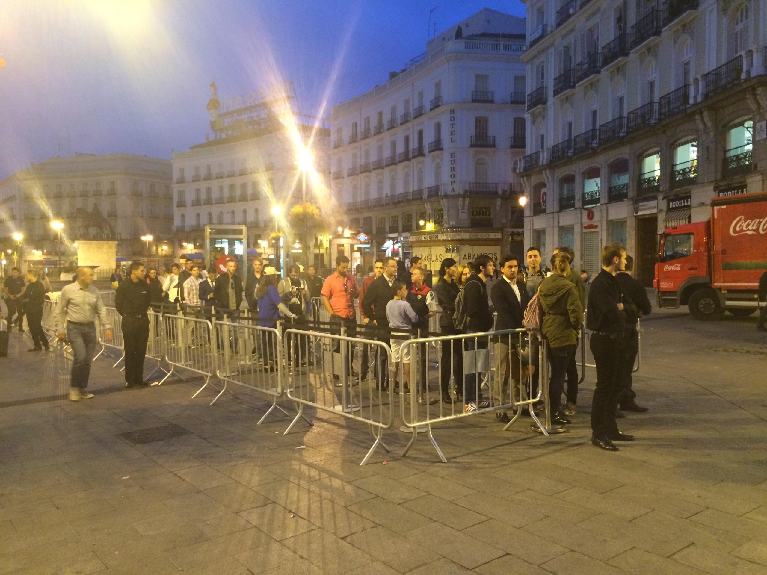 Foto de Lanzamiento iPhone 6 Puerta del Sol (3/10)