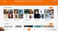La web de Google Play Music se renueva con Material Design