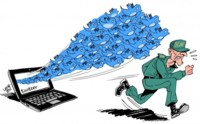 Ojo con lo que tuiteas: la convocatoria de una manifestación puede costarte 600.000 euros