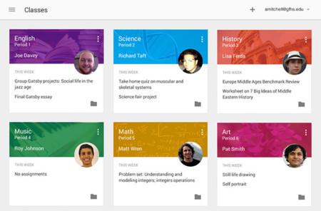 Google Classroom, un nuevo sistema de gestión de aprendizaje