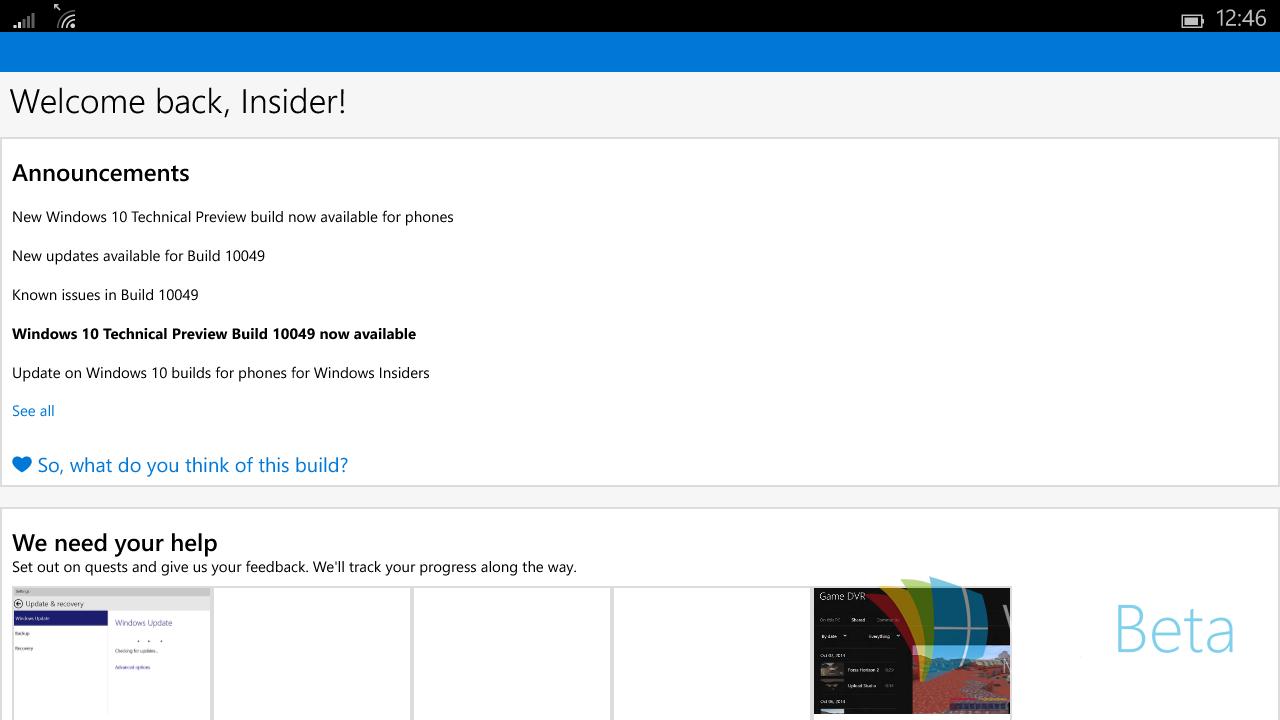 Foto de Windows 10 para tablets pequeños (3/8)