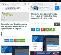 Así se verán las páginas webs con el modo para conexiones lentas de Chrome en Android