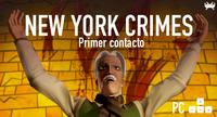 'New York Crimes' para PC: primer contacto