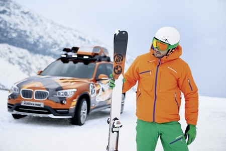 BMW lanza una nueva colección de esquís