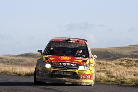 Rally de Gales 2010: Sébastien Ogier vuelca y dice prácticamente adiós al subcampeonato