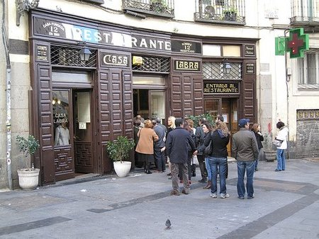 Restaurantes centenarios en Madrid