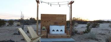 De cabaña abandonada a casa oasis: el reto artístico de la familia Smirke en pleno desierto de California