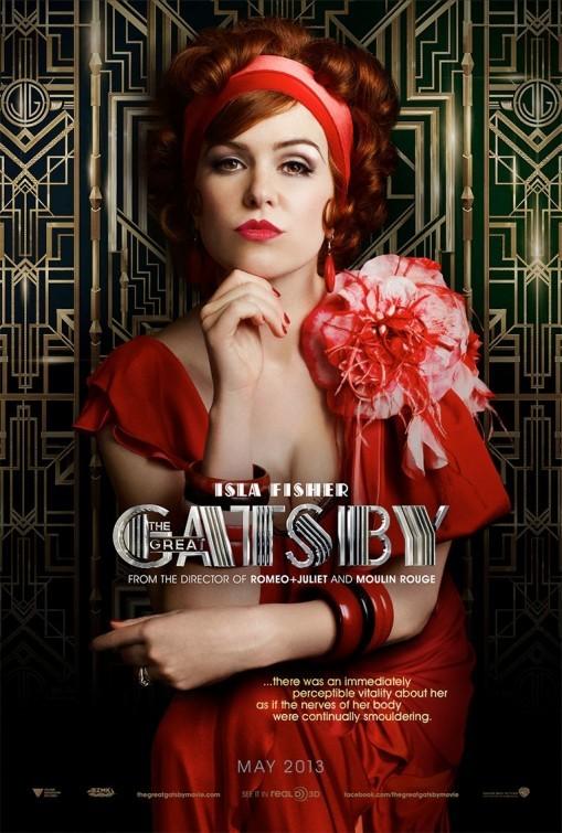 Foto de 'El gran Gatsby', carteles de los protagonistas (6/6)