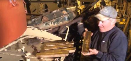Compra un tanque por eBay y se encuentra 2,3 millones de euros en lingotes de oro escondidos en el depósito