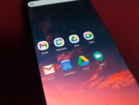 Cómo regresar a los viejos y clásicos iconos de Gmail, Calendario, Drive y Meet de Google en Android, iOS y Chrome