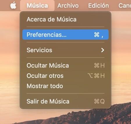 Apple Musica Mac Preferencias
