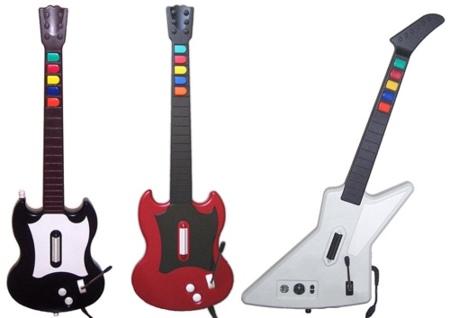 Especial controles de videojuegos: instrumentos musicales