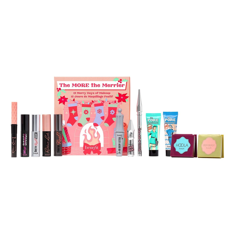 Calendario de adviento de 12 días de Navidad de Benefit Cosmetics