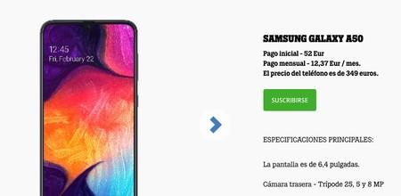 Samsung Galaxy A50 en Tele2