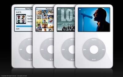 iPod, elegido como mejor reproductor MP3 de 2005