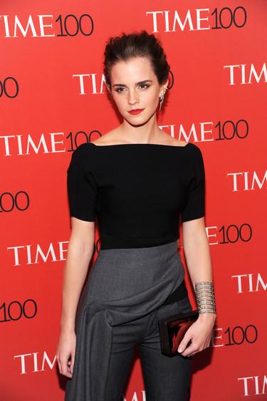 El (esperado) regreso de Emma Watson y su acertado look en la gala Time 100