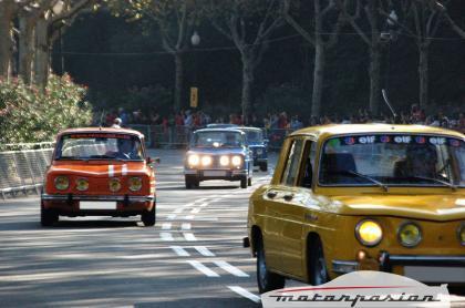 Los Renault 8 TS en el Martini Legends de Montjuïc
