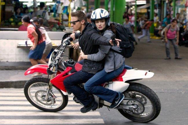 Una escena de la película El Legado de Bourne