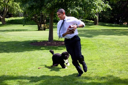 Barack Obama Running
