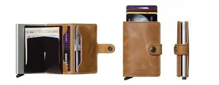 Cartera Secrid Mini Wallet Vintage Cognac