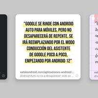 Chrome quiere que pruebes dos experimentos: la búsqueda continua y su creador de tarjetas para compartir textos