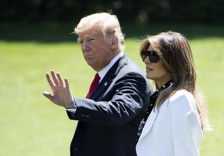 Melania Trump nos da una lección de estilo con su último look