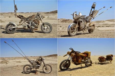 Algunas de las motos de Mad Max: Fury Road que han valido un Oscar
