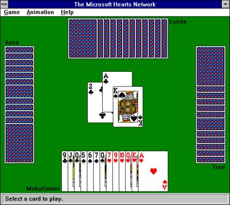 Hearts Microsoft Windows 3 1
