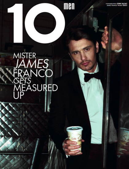 10 men James Franco